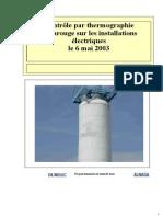 Rapport de Contrôle par thermographie infrarouge sur les installations électriques.pdf