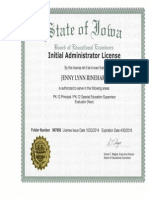 admin license jrinehart