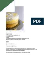 Tortas y Dulces Citricos