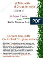 Clinical Trial of Controlled Drug