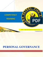 PNP Personal Governance Lecture