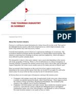 Working in the Norwegian Tourism Industry