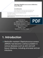 Rising Methicillin-Resistant Staphylococcus Aureus Infections Jurnal Reading Tht