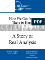 A Story of Real Analysis eBook