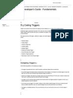 Coding Triggers