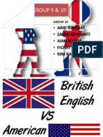 USA English vs UK English