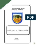 Guia Para Elaborar Tesis UNAMBA-2011-1