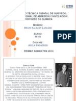 Diapositivas Cientifico Enrico Fermi Belen Salazar M01