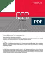 Finevu Pro Manual