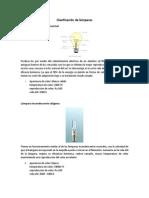 Clasificación de Lámparas