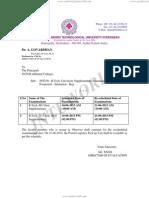 Postponed Exam Re-shedule