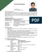 Mohammad Atik Ullah Bhuiyan(CV) Revised