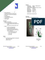 Resolution Products RE206 Tilt Sensor