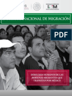 dh personas migrantes transitan mexico