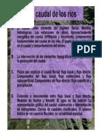 T3. El Caudal de Los Ríos