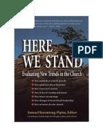 Here We Stand - Pipim