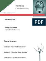Lecture 1 2014 Neuroeconomics