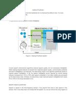 Auditory Prosthesis