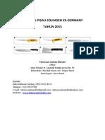 Katalog Pisau  Rumah Potong Hewan - Pisau RPH - Merek Solingen Ex Jerman