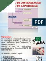 Diseu00F1o de Contrastacion