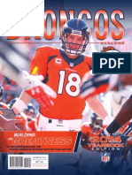Building on Greatness - Broncos 2014 YB Cover Story