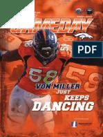 Von Miller Just Keeps Dancing
