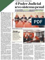 17-12-2014 Ajustan el Poder Judicial local a nuevo sistema penal