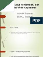 Ukuran, Daur Kehidupan, Dan Pertumbuhan Organisasi