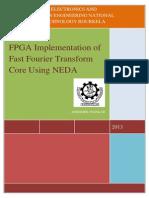 fft implementation for fpga