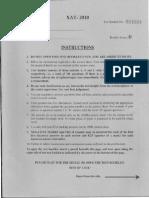 XAT2010 Paper