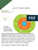 Paris Bakery Mobile Loyalty Solution Best Practice