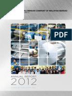 4.Aluminium Company of Malaysia Berhad 2012