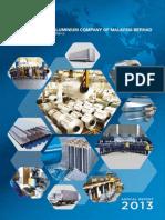 4.Aluminium Company of Malaysia Berhad 2013
