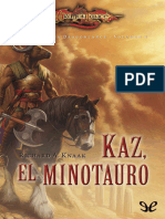 Kaz, El Minotauro - Richard A. Knaak - 11719 --.epub