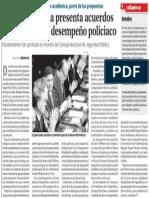 20-12-2014 Rodrigo Medina presenta acuerdos para optimizar desempeño policiaco