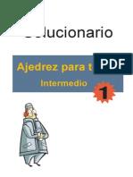 Ajedrez Para Todos, Intermedio 1 SOLUCIONARIO