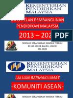 Sudut Pelan Pembangunan Pendidikan Malaysia