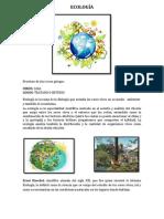 Ecología Materia