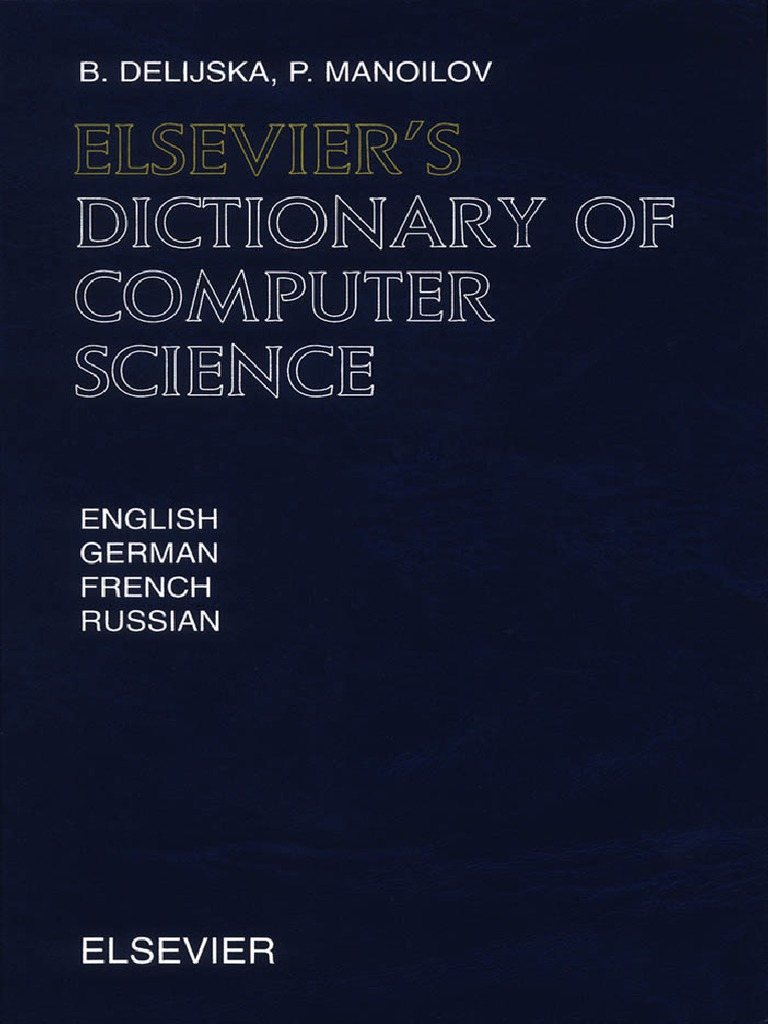 Elseviers Dictionary of Computer Science  69cfaf8d22156