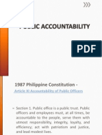 Public Accountability - Lecture