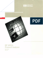 04952-90082 4952A Protocol Analyzer Operating Manual Nov89