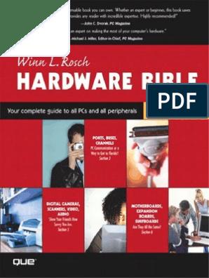 Winn L  Rosch - Hardware Bible | Computer Data Storage