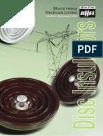 Disc Insulator Catalog - BHEL