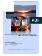JFThye_Masters Project on Desalination_Part 1 of 2