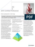 Autodesk AutoCAD 2015 Certification Roadmap