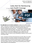 Employer Penalty Alert for Reimbursing Employee Health Coverage