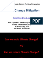 Cross Cutting Strategies Climate Changeby Benoit Lebot UNDP Feb 2011 English