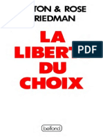 169_la Liberte Du Choix - Friedman