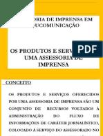 Assessoria de Imprensa - Produtos e Serviços - Rosildo Brito