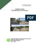 Pedoman Teknis Jalan Produksi Deptan 2008